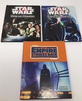 Set Of 3 Star Wars Book / 1 The Empire Strikes Back and 2 Star Wars Disney
