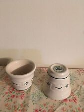Longaberger Heritage Green Votive Cups- Set Of 2- Made In Usa