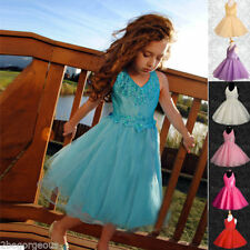 Unbranded Polyester Sleeveless Knee Length Girls' Dresses (2-16 Years)