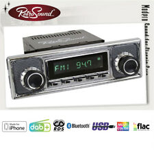 BMW 1502 1600-2 1602 Becker Oldtimer Voiture Radio DAB + Fm USB Aux Bluetooth
