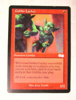 Goblin Lackey Urza's Saga MTG Magic The Gathering Summon Trading Card MP