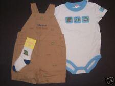 NWT Gymboree Botanical Babies 12-18 Months Ant Short Overalls Bodysuit & Socks