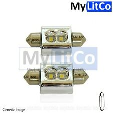 Number License Plate LED Xenon White Festoon Light No Canbus Error Warning Bulbs