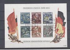 DDR  Block 13 gestempelt.  Engelsblock. 31.12.1956 letzter Verwendungstag.