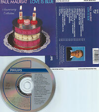PAUL MAURIAT-ANNIVERSARY COLLECTION-LOVE IS BLUE-1988-USA-PHILIPS REC.-CD-MINT-