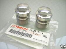 2x Fork leg stanchion Inner Tube bolt screw aluminio Alloy XT 500 1980 - 89