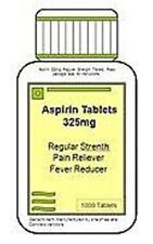 Aspirin 325 mg Tabs by PharBest - 1000 ct