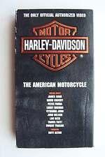 Harley Davidson: American Motorcycle VHS Tape 1993