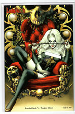 LADY DEATH SCORCHED EARTH #1 NAUGHTY EDITION LTD 500 JAY ANACLETO VARIANT
