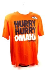 Denver Broncos Omaha Hurry Adult Orange T-Shirt Size XL NIke