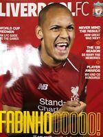 Liverpool FC Magazine. Fabinho Cover. July 2018. Issue 71