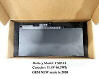 OEM Genuine CS03XL Battery for HP Elitebook 840 G3 G4 854108-850 800513-001 2020