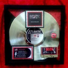AC/DC  Back in Black  PLATINUM AWARD  Certified RIAA 22-X  RARE EXTREME