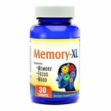 Focus Clarity Concentration Mood Brain Enhancement Supplement Memory Nutrients