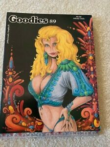 Adult Graphic Comix - Goodies Issues 89, 90, 91  -- unread, mint condition