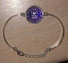 Epilepsy Surgery Friends Silver Bracelet