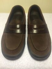 Mens Bass Tiller T42 Leather Penny Loafer US 7 M Brown Slip On Shoes C43 04/01