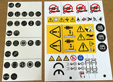 Forklift Safety Sticker / Decal Kit, TPC-73695