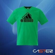Camiseta a birras cerveza humor divertido basado adidas  ENVIO 24/48h