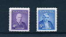 CANADA 1955 PRIME MINISTERS (4th issue) SG483/484  MNH