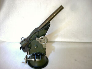 RARE Vintage 30s  Steel Marklin Toy Coastal Artillery Cannon / Gun - Germany