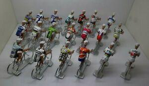 Gent Wevelgem winners set 1999-2019  Cycling  figurines set miniature bmc trek