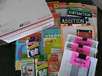 Third Grade: Home-school Curriculum Box Made to order