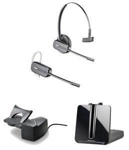 PLANTRONICS CS540 DECT Wireless Convert-Headset & HL10 Handset Lifter.  84693-12