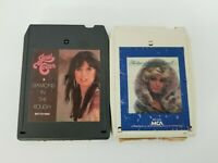 Country 8 Track Tapes Set of 2 Barbara Mandrell & Jessi Colter Diamond In Rough