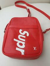 Copy Of Supreme Red Crossbody Bag