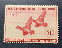 WTDstamps - #RW10 1944 - US Federal Duck Stamp - Mint H