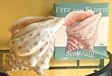 Nib Fitz & Floyd Seaboard Large Conch Shell Vase 2006 Discontinued