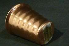 HANDCRAFTED  Copperance TOOTHPICK HOLDER, made in CAIRNS N Q