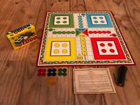 RARE Vintage Ludo Family Game with Original Counters and Board