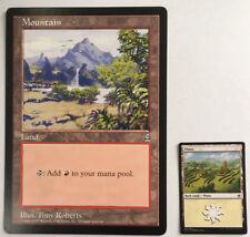 Mountain Land Oversized 6X9 - Arena Promo Card MTG Magic Giant Card