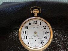 Vintage Illinois Watch Co 1921 Pocket Watch