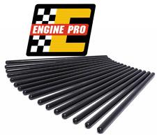 """Engine Pro 7.800"""" 1010 Hardened Pushrods Set Chevrolet SBC w/ Flat Tappet Cam"""