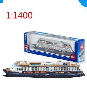 1:1400 Mein Schiff 3 U1724 Siku6 Cruise Ship Alloy Ship Model Toy
