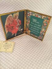 VIA VERMONT ART Vintage MOM Christmas Time RARE  Handcrafted Art Expressions