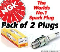 2x NEW NGK Replacement SPARK PLUGS - Part No. CPR8EA-9 Stock No. 2306 2pk