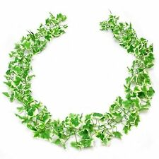 Green or variegated Artificial silk Ivy chainlink garland aprox 6ft /173cm