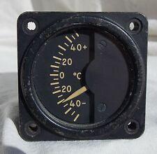 Grumman S-2F Tracker ASW Carrier Aircraft Temperature Indicator Gauge Instrument