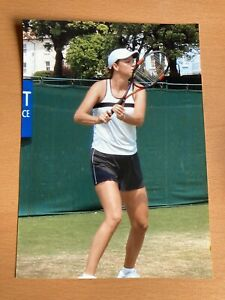 "LINDSAY DAVENPORT WIMBLEDON TENNIS PHOTO 7"" X 5"""