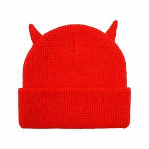Horns Beanie RED