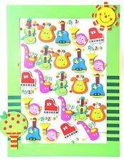 24 x Cute Wooden Musical Instruments Fridge Magnets....Party Favours