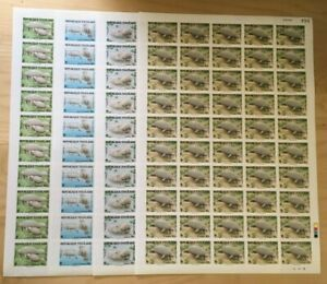 SPECIAL LOT WWF Togo 1984 1241-4 - Manatee - 4 Sheets of 50 - IMPERF