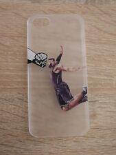 Cartoon Basketball Transparent Hard Case Schutzhülle für iPhone 5S SE.
