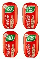 New lot of 4 Coca Cola Tic-Tac Limited Edition mints 3.4 oz 200 ct   – free ship