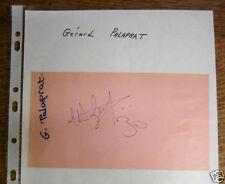 Autographe/Dédicace de Gérard Palaprat