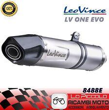 8488E SILENCIEUX COMPLET LEOVINCE GILERA NEXUS 500 2004- LV ONE EVO INOX/CARBONE